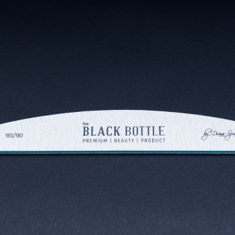the BLACK BOTTLE пила зебра - 180/180 грита