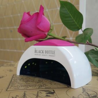 The BLACK BOTTLE UV/LED лампа с падащо, метално дъно