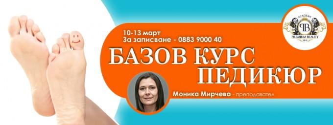 Базов курс педикюр с Моника Мирчева